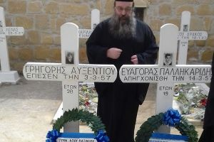 Στα φυλακισμένα μνήματα της Κύπρου ο Χίου Μάρκος