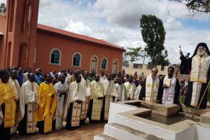 Ομαδικές Βαπτίσεις στο Κινταμάλι της Κεντρικής Τανζανίας από τον Πατριάρχη Αλεξανδρείας Θεόδωρο