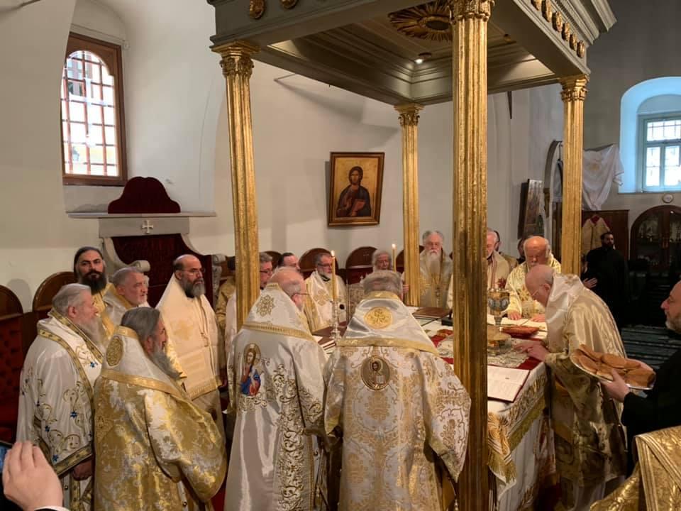 Πατριαρχική και Συνοδική Θεία Λειτουργία στην Ι.Μ. Ζωοδόχου Πηγής -Βαλουκλή