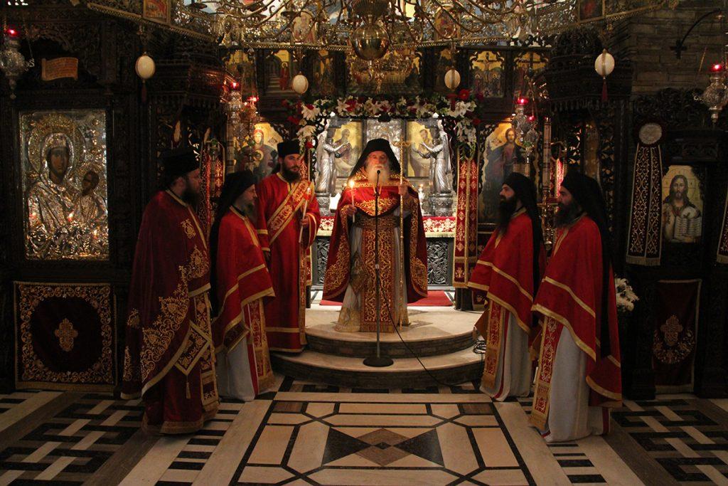 Ανάμνηση εγκαινίων του Καθολικού της Ιεράς Μονής Τρικόρφου Φωκίδος