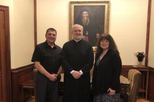 Οι πρώτοι ομογενείς εξ Αμερικής που συναντήθηκαν με τον Αρχιεπίσκοπο Ελπιδοφόρο