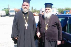 Ο «Άγιος των Φυλακισμένων»  Αρχιμ. Γερβάσιος Ραπτόπουλος επισκέφθηκε τις φυλακές Αγίου Στεφάνου Πατρών