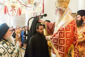 Νέος Μοναχός στην Ιστορική Ιερά Μονή  Παναγίας Αντινίτσης.