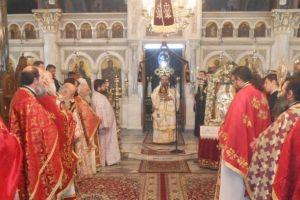Λαμπρός ο εορτασμός του Ευαγγελιστή Μάρκου και τα ονομαστήρια του Μητροπολίτη Χίου