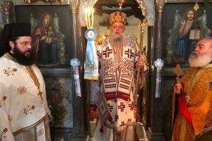 Λαμπρός εορτασμός της Αγίας Μεγαλομάρτυρος Ειρήνης στην Ι.Μ. Παροναξίας