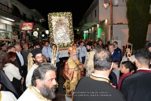 Πλήθος κόσμου τίμησε τον Προστάτη του Παραλιμνίου στην Κύπρο