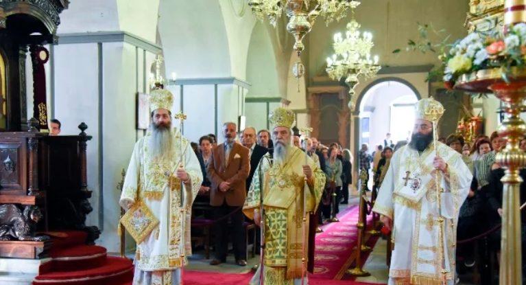Πάνδημη συμμετοχή στον εορτασμό της Παναγίας Χρυσαφίτισσας στη Μονεμβασιά