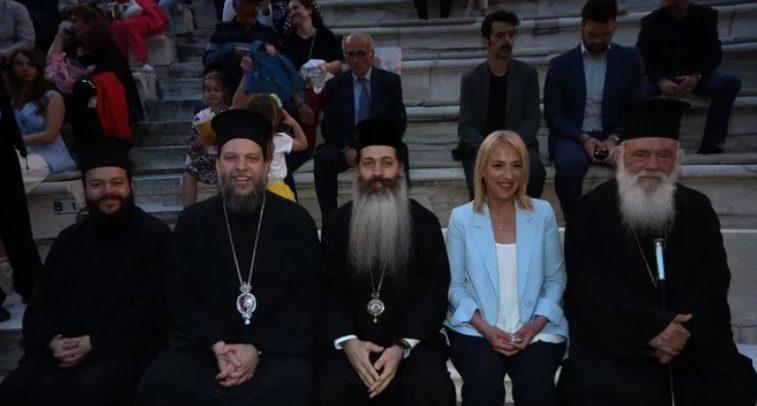 You are currently viewing Ο Αρχιεπίσκοπος Ιερώνυμος στο Ηρώδειο για τη γενοκτονία των Ποντίων