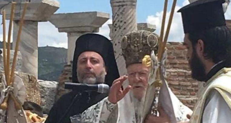Στην Αρχαία Εφεσσο λειτούργησε ο Οικ.Πατριάρχης Βαρθολομαίος για τον Άγιο Ιωάννη Θεολόγο