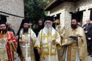 Μεταπασχάλια Ιερατική Σύναξη στην Μονή Παναγίας Μαυριωτίσσης στην Ι.Μητρόπολη Καστοριάς