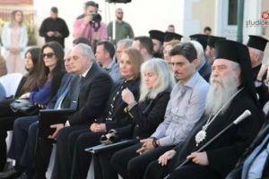 Ο Σπάρτης Ευστάθιος σε εκδήλωση για τους αδελφούς Γιαννακόπουλου