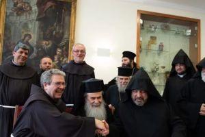 Υπογραφή σύμβασης για συνέχιση των εργασιών στον Πανάγιο Τάφο στα Ιεροσόλυμα