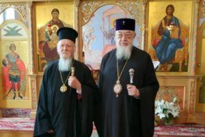 Συνάντηση του Οικουμενικού Πατριάρχη με τον Μητροπολίτη Βαρσοβίας