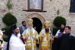 Σεμνά και ταπεινά ο πρώτος εορτασμός του νέου Μητροπολίτη Σισανίου Αθανασίου