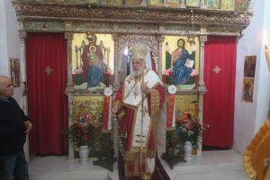 Επί πτερύγων ανέμων και επί ράχης των κυμάτων, ο Μητροπολίτης Σύρου Δωρόθεος στην πανηγυρίζουσα Μονή Ζωοδόχου Πηγής στη Σίκινο