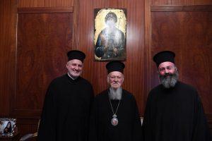 Το Μικρό και Μεγάλο Μήνυμα του νέου Αρχιεπισκόπου Αμερικής ενώπιον του Οικουμενικού Πατριάρχου και των μελών της Αγίας και Ιεράς Συνόδου