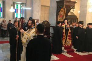 Ο Οικουμενικός Πατριάρχης στον Αγιο Γεώργιο  Κυπαρισσά αναφέρθηκε  στην οικουμενική  διάσταση της διακονικής  μαρτυρίας του Οικουμενικού Θρόνου ανά  την υφήλιο.