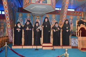 Ο Μητροπολίτης Γαλλίας εκπρόσωπος του Οικ. Πατριαρχείου στη Θρονική Εορτή της Εκκλησίας της Κύπρου