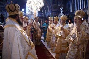 Πολυαρχιερατική θεία λειτουργία στην Κόρινθο για τον Απόστολο των Εθνών Παύλο