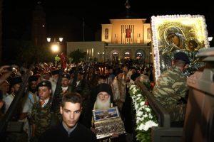 ΚΟΡΙΝΘΟΣ: Η Λιτάνευσις της Τιμίας Ζώνης της Υπεραγίας Θεοτόκου