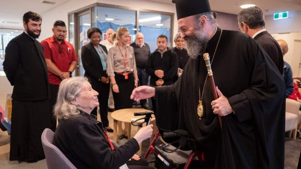 Επίσκεψη του Αρχιεπισκόπου Αυστραλίας στη Βασιλειάδα στο Randwick
