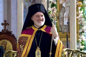 Επιβατήριος λόγος Σεβ. Αρχιεπισκόπου Αμερικής κ. Ελπιδοφόρου