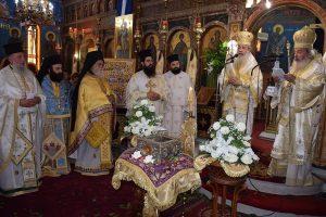 Με το χρυσό μετάλλιο της Μητροπόλεως Φθιώτιδος τιμήθηκε ο π. Χριστοφόρος Κολοκυθάς