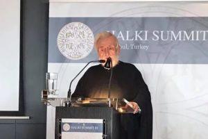 """Ο Γέρων Περγάμου Ιωάννης στην Γ΄ Διεθνή """"Διάσκεψη της Χάλκης"""""""