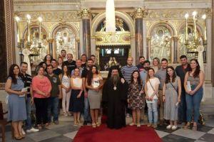 Πραγματοποιήθηκε για όγδοη συνεχή χρονιά η καθιερωμένη ετήσια σύναξη μελλονύμφων της Ιεράς Μητροπόλεως Χίου.