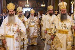 Πολυαρχιερατικό Συλλείτουργο στον Καθεδρικό Ναό της θείας Αναλήψεως στην Κατερίνη