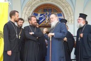 Επίσκεψη Ιλαρίωνα στην μητρόπολη Κορίνθου-Τι είπαν με τον Σεβ. Διονύσιο