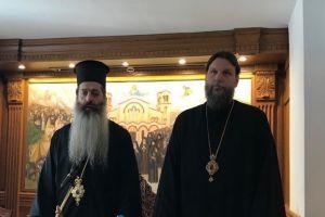 Ο Επίσκοπος Θεσπιών κ. Συμεών στην Ι.Μ. Νέας Ιωνίας