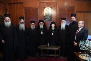 Ο Αρχιεπίσκοπος Αθηνών και πάσης Ελλάδος στο Οικουμενικό Πατριαρχείο