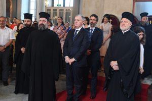"""Πατριάρχης Βαρθολομαίος:""""Σταθερή γραμμή του Οικουμενικού Πατριαρχείου είναι να συμβάλλει στο πλησίασμα και στην κοινή δημιουργική συνεργασία ανθρώπων και λαών, πόσο μάλλον των γειτόνων λαών"""""""