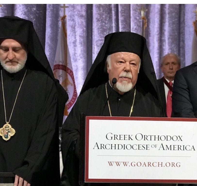 Η εμπνευσμένη ομιλία του Σεβ. Γερμανίας Αυγουστίνου στην ενθρόνιση του Αρχιεπισκόπου Αμερικής Ελπιδοφόρου