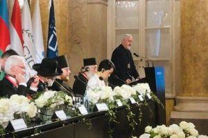 Ο Μητροπολίτης Γαλλίας Εμμανουήλ  ομιλητής σε Διαθρησκειακό Συνέδριο στη Βιέννη