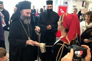 Η Δ. Αυστραλία υποδέχθηκε τον Αρχιεπίσκοπο Μακάριο – Θέλησε να λειτουργήσει στον νεόκτιστο ναό του Αγίου Παισίου