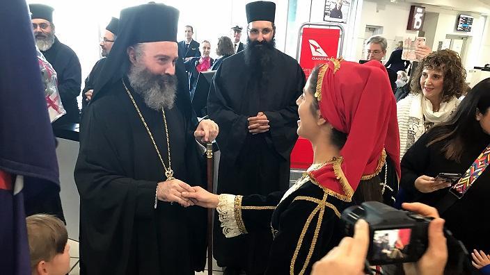 You are currently viewing Η Δ. Αυστραλία υποδέχθηκε τον Αρχιεπίσκοπο Μακάριο – Θέλησε να λειτουργήσει στον νεόκτιστο ναό του Αγίου Παισίου