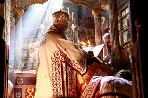 Αρχιερατική Θεία Λειτουργία και χειροτονίες στην Ι.Μονή Βατοπαιδίου