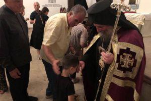Συγκίνηση στον ιστορικό ναό Αγ. Παντελεήμονος στην Απολλωνιάδα της Ι. Μητροπόλεως Προύσης