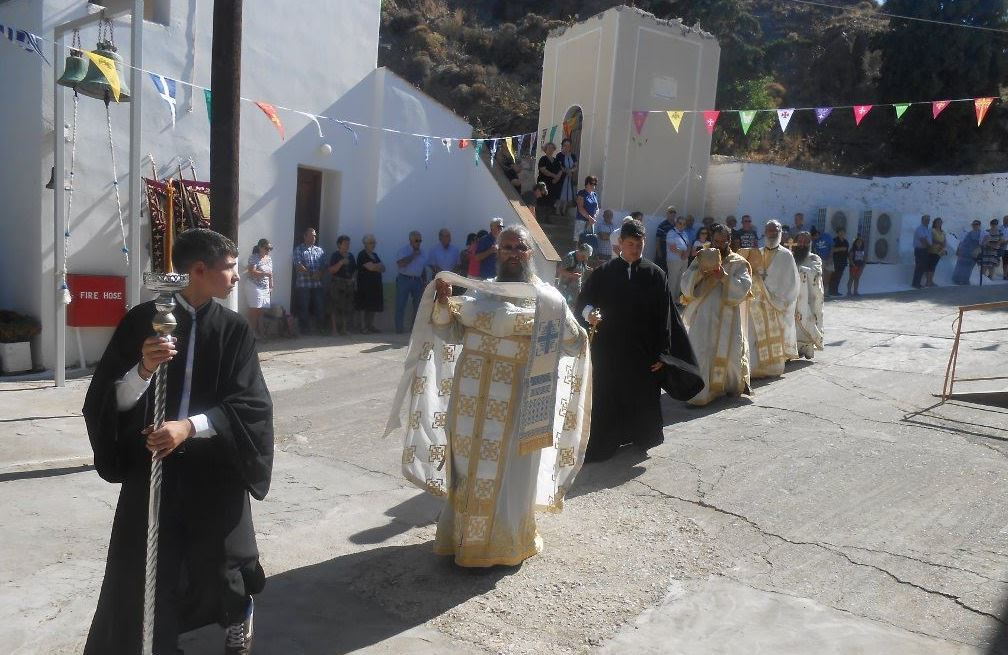 Ο εορτασμός της Αγίας Μαρκέλλας στον τόπο του μαρτυρίου της στη Βολισσό Χίου