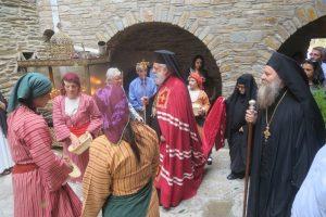 Πλήθος ευλαβών προσκυνητών κατέκλησαν την Ιερά μονή Αγίας Μαρίνης Άνδρου