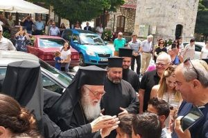 Ο Αρχιεπίσκοπος Αλβανίας Αναστάσιος  στην γραφική και ιστορική Στεμνίτσα Αρκαδίας