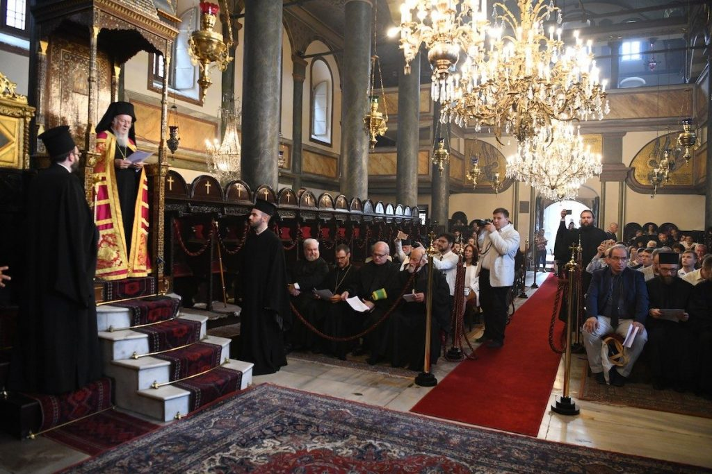 Καθηγητές και Φοιτητές από Θεολογικές Σχολές της Ουκρανίας έγιναν δεκτοί από τον Οικουμενικό Πατριάρχη