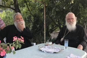 Ο Αρχιεπίσκοπος στην Μητρόπολη Καρπενησίου