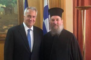 Στο πλευρό της Θεολογικής Σχολής Χάλκης ο υπουργός Αγροτικής Ανάπτυξης Μάκης Βορίδης