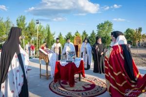 Θεμελίωση ναού και κουρά μοναχού στην Ι. Μητρόπολη Διδυμοτείχου