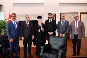 Τον Δήμαρχο του Φατίχ επισκέφθηκε ο Οικ. Πατριάρχης Βαρθολομαίος