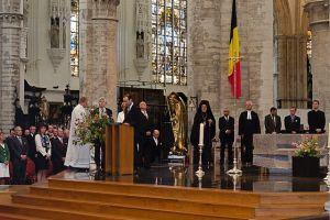 Στην επίσημη Δοξολογία για την εθνική εορτή του Βελγίου ο Μητροπολίτης Βελγίου Αθηναγόρας
