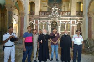 Η ανακαίνιση της Αγίας Αικατερίνης του Σουέζ